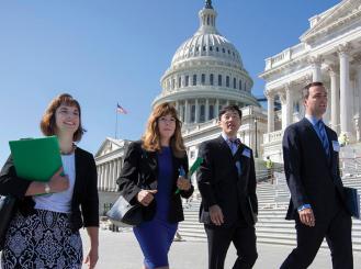 ASCO representatives visit Capitol Hill